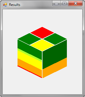 Green Up Cube